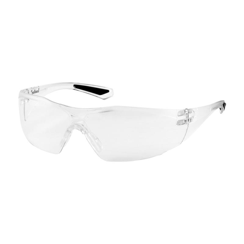 PIP Pulse™ Clear Anti-Scratch/Fog Coated Lens & Temple Rimless Safety Glasses