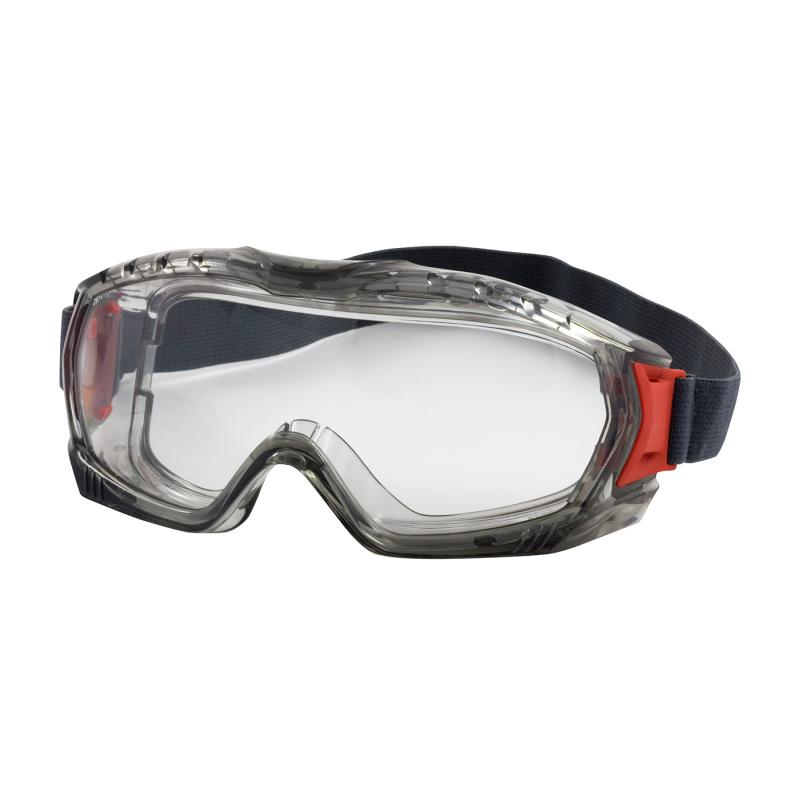 PIP Stone™ Clear Anti-Scratch/FogLess 3Sixty™ Coated Lens Gray Body Indirect Vented Safety Goggles