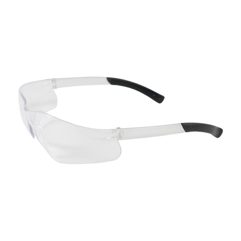 PIP Zenon Z13™ Clear Anti-Scratch Coated Lens & Temple Rimless Safety Glasses