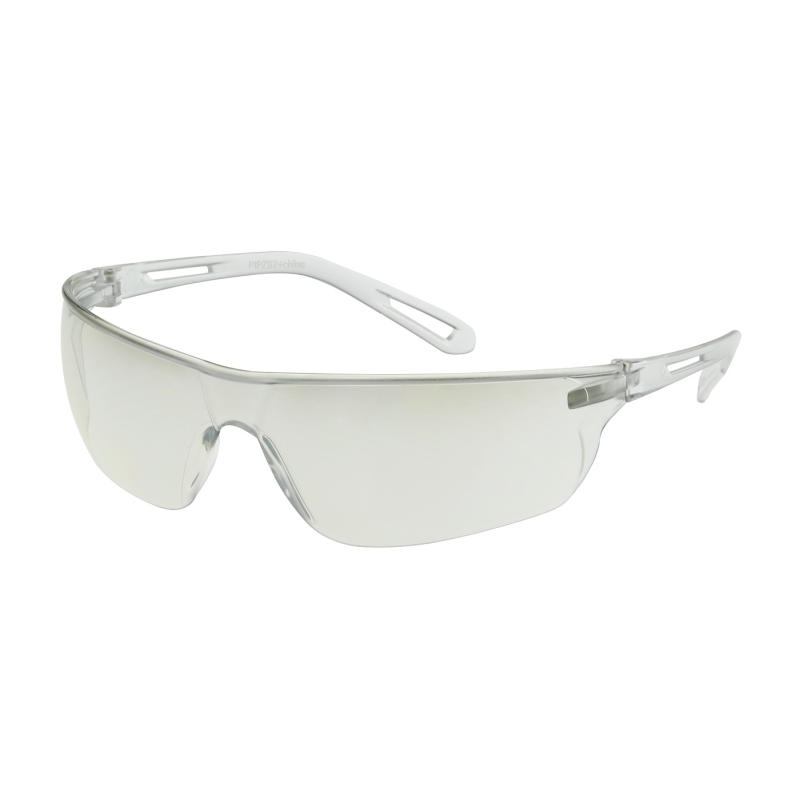 PIP Zenon Z-Lyte™ Clear I/O Anti-Scratch Coated Lens & Temple Rimless Safety Glasses