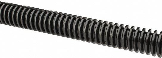 Plain Unfinished Steel Threaded Rod