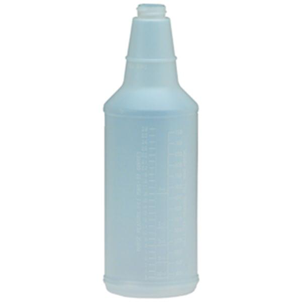 Plastic Bottle w/ Graduations, 24 oz