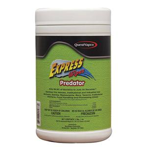 Predator Sanitizing Express Wipes 100 Wipes per Container