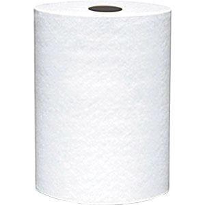 Preserve Hardwound Towels, White, 6 Rolls/10 x 600' ea