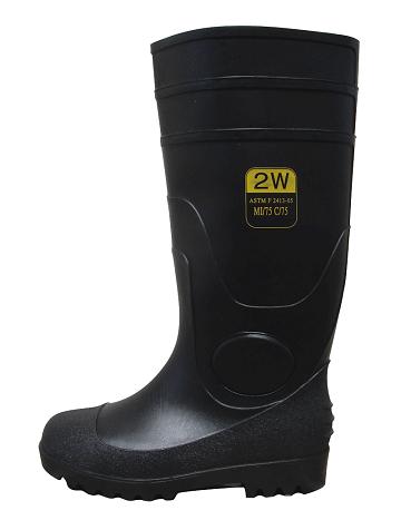 PVC Steel Toe Boots