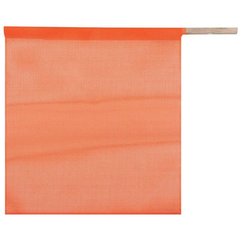 Mesh Flag, 30 Dowel 18 x 18
