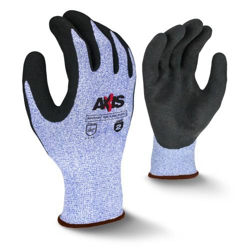 Radians AXIS™ Cut Protection Foam Nitrile Coated Glove- Blue
