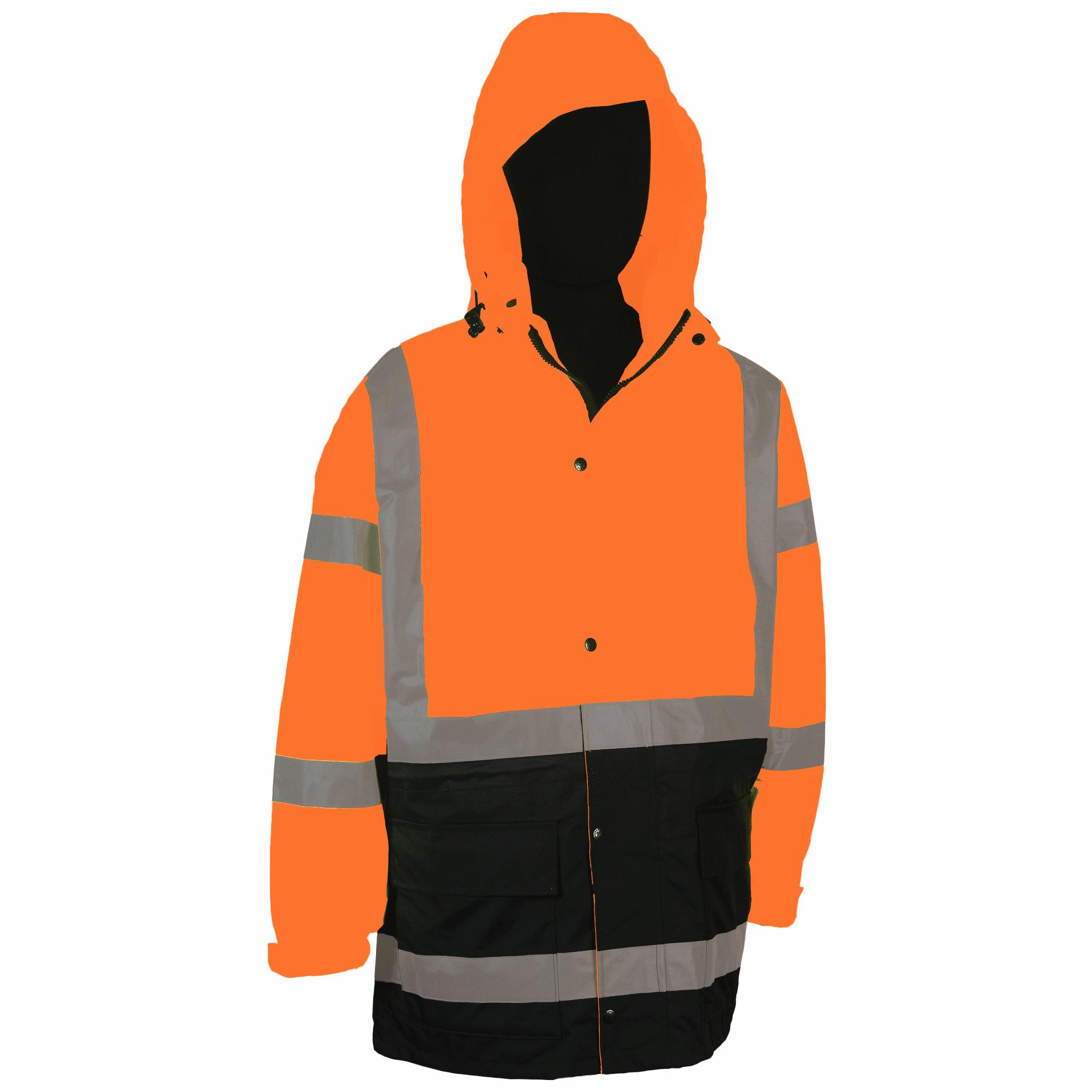 Rain Parka Orange Class 3
