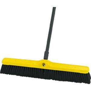 Rubbermaid® Heavy-Duty Floor Sweep, Polypropylene & Polystyrene Fill, 24