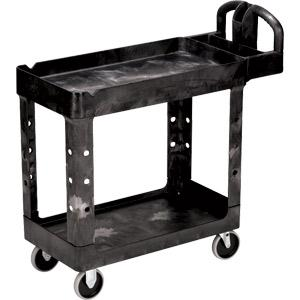 Rubbermaid® Heavy-Duty Utility/Service Cart, 39L x 33 1/4H x 17 7/8W