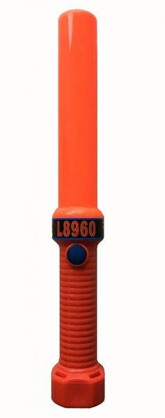 Safety Wand HD with Anti-Roll Base ORANGE