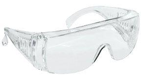 SAS 5120 Worker Bee Safety Glasses - Clear with Clear Lens - Polybag (Dozen)