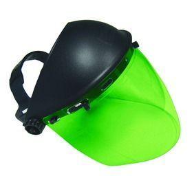SAS 5147 Deluxe Face Shield - Dark Green (Box of 4)
