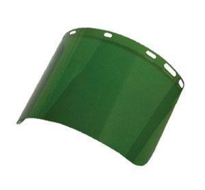 SAS 5152 Replacement Face Shield (5142) - Dark Green (Box of 12)