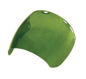 SAS 5157 Replacement Face Shield (5147) - Dark Green (Box of 12)