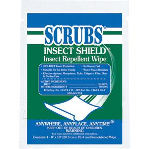 Scrubs® Insect Shield™ Insect Repellent Wipes