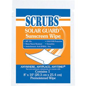 Scrubs® Solar Guard™ Sunscreen Wipes