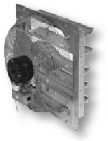 Shutter Mounted Exhaust Fan