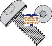 Six Lobe External Washer Steel Zinc Plated Pan Head Sem Screws