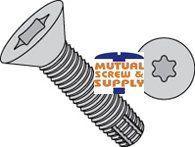 Six Lobe Flat Head 18/8 Stainless Steel Type F Thread Cutting Screws