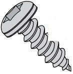 Six Lobe Pan Head 18/8 Stainless Steel Type A Sheet Metal Screws