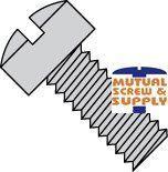 Slotted Fillister Head Steel Zinc Plated Machine Screws