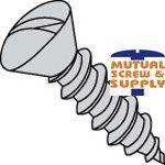 Slotted Oval Head 18/8 Stainless Steel Type A Sheet Metal Screws