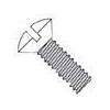 Slotted Oval Head Steel Zinc Plated with Ivory Painted Head Machine Screws