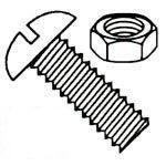 Slotted Round Head 18/8 Stainless Steel Machine Screws Kit