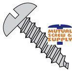 Slotted Round Head Steel Zinc Plated Type A Sheet Metal Screws