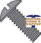 Slotted Truss Head Steel Black Zinc Machine Screws