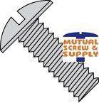Slotted Truss Head Steel Zinc Plated Machine Screws