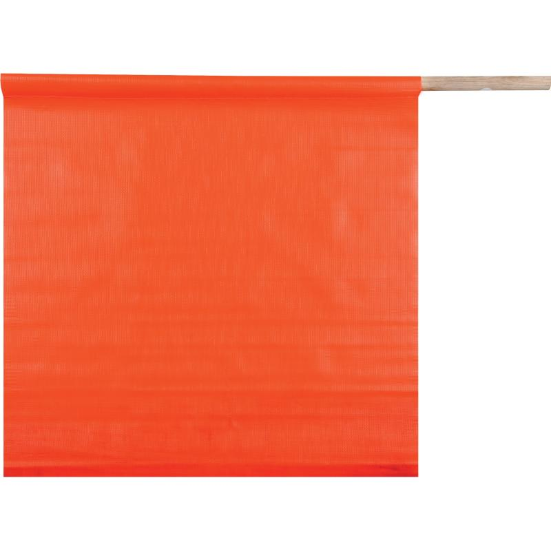 Solid PVC Flag w/ 24 Dowel 18 x 18