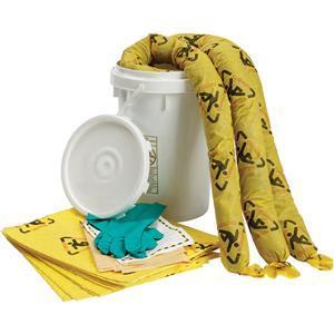 SPC® Brightsorb Hi-Vis Chemical 6.5 gal Bucket Spill Kit