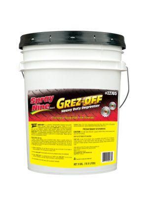 Spray Nine 22705 Grez-Off Heavy Duty Degreaser, 5 Gallon