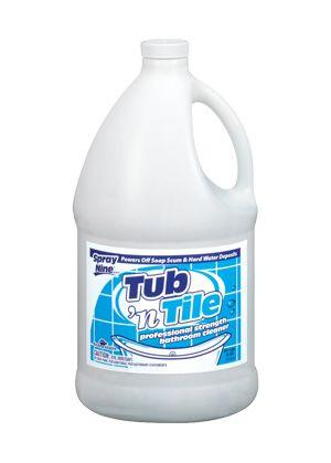 Spray Nine 27501 Tub 'N Tile Cleaner,1 Gallon