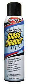 Spray-X 100 Spray-X Foaming Glass Cleaner