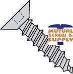 Square Flat Undercut Head Type A Sheet Metal Screws