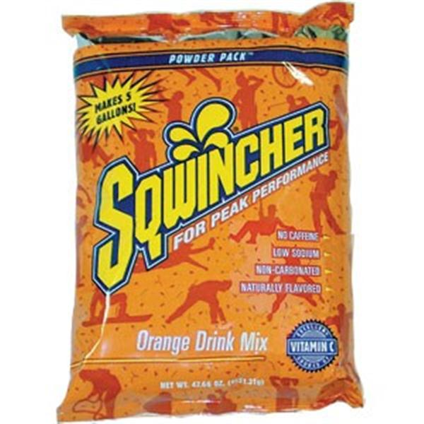 Sqwincher® Powder Packs (Makes 5 gal), Orange