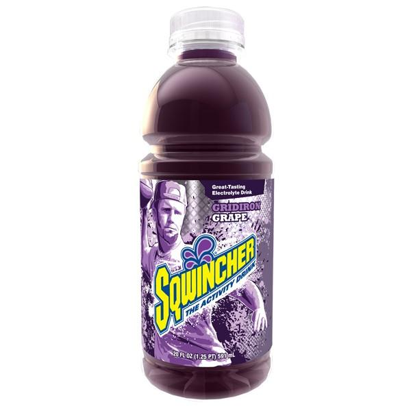 Sqwincher® Ready-To-Drink Widemouth Bottles, Grape