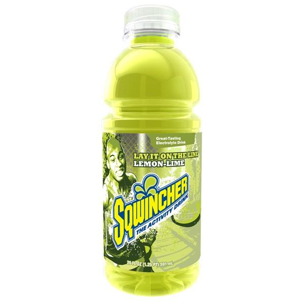 Sqwincher® Ready-To-Drink Widemouth Bottles, Lemon-Lime