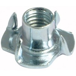 Stainless Steel 4 Prong Tee Nuts