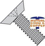 Stainless Steel 18/8 Black Oxide Finish Phillips Undercut Flat Head Machine Screws