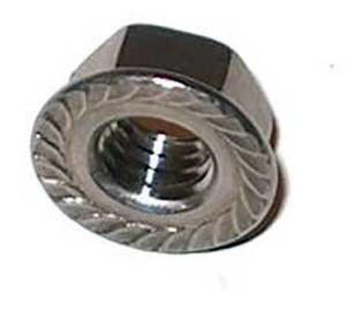 Stainless Steel  316 Serrated Flange Lock Nuts