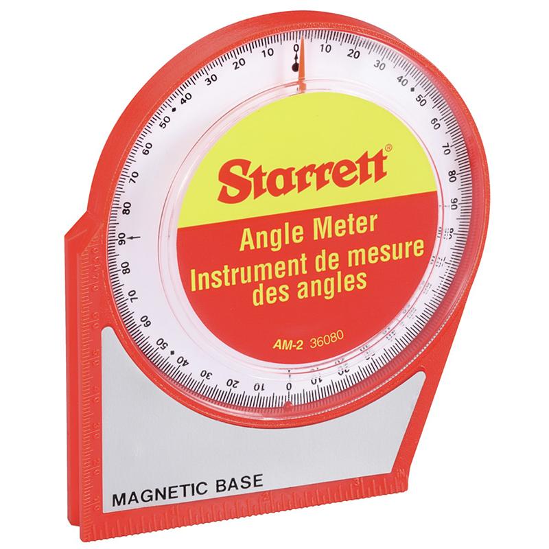 Starrett 0 to 90° Magnetic Angle Meter