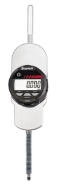 Starrett 50mm/.5 Range, 0.001mm/.00005 Res IP67 Protection 8mm Stem Electronic Indicator