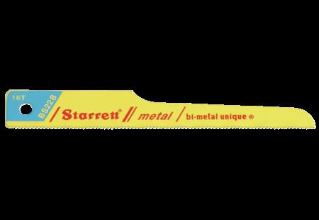 Starrett BS228-50 RECIP BLADE- PNEU 3 5/8LX1/2X.024X18T B/M 50 PK