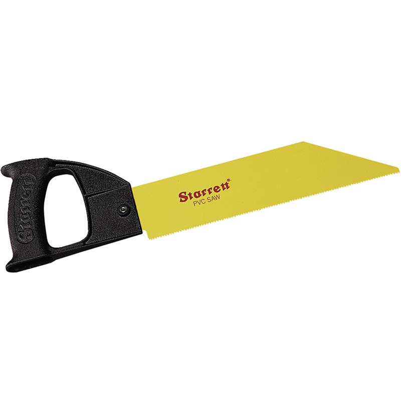 Starrett PVC Saw with Blade, 12 Length, Cast Aluminium Handle