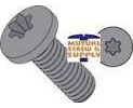 Steel Black Zinc Torx® Alternative Pan Head Machine Screws