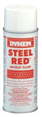 STEEL RED Layout Fluid 16oz. Aerosol Can